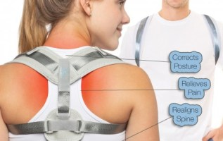 Easy Posture Brands' Corrector Back Brace improves posture while reducing back pain 2