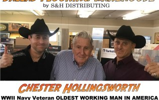 Oldest Working Man in America and WWII Navy Veteran to Retire on 101st Birthday from Dallas Flooring Store