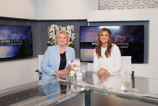 Worldwide Business with kathy ireland® Showcased Oral Care and Probiotics with ProBiora Health 1