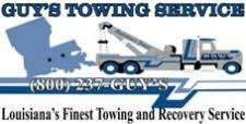 Guy's Towing Service is the Leading Tow Truck Company in New Roads 2