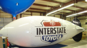 High Performance, Cost Effective Advertising Blimps Now Available to USA Auto Dealers 21