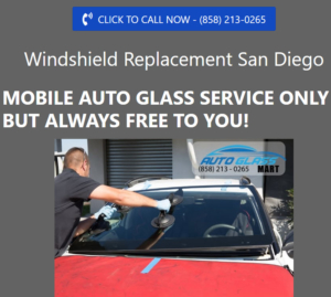New Website Created for Auto Glass Repair Company in San Diego