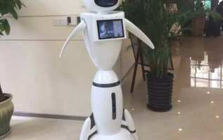 German LIECTROUX Library Staff Robot Enables Artificial Intelligence To Enter Into Libraries 2