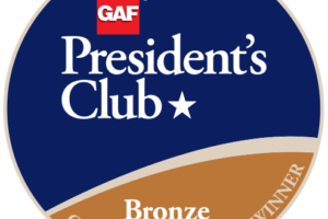 Roof Control Services of North Carolina Receives GAF's Prestigious 2018 President's Club Award 15
