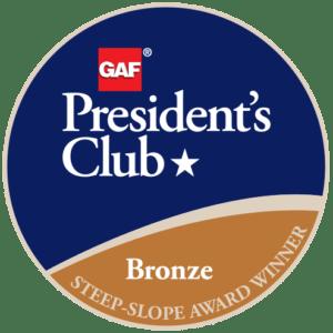 R&B Roofing Receives GAF's Prestigious 2018 President's Club Award 2