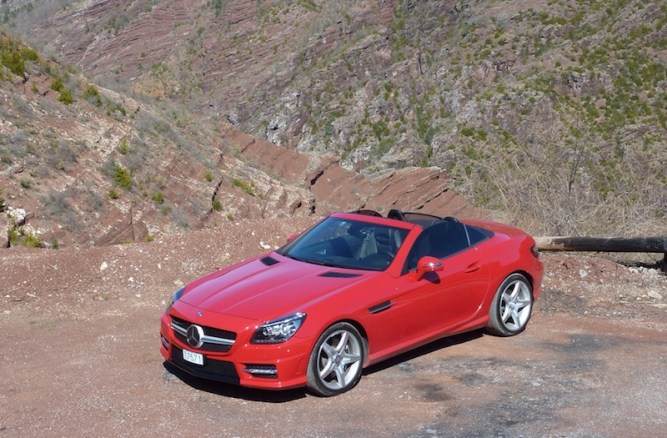 SmartTOP convertible top control for Mercedes-Benz SLK and SLC with new features 1