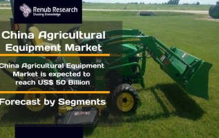 China Agricultural Equipment Market is expected to reach US$ 50 Billion by the end of year 2025 2