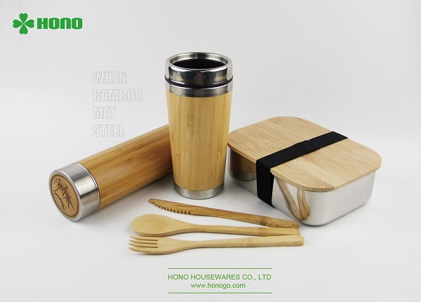 HONO RELEASED A SERIES OF NEW PRODUCTS: ECO-FRIENDLY BAMBOO LID LUNCH BOX, BAMBOO MUG, BAMBOO VACUUM FLASK 14
