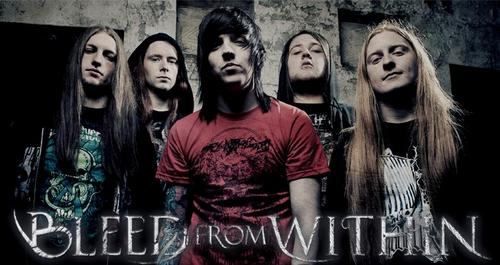 Bleed From Within Metal band