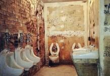 CBGB toilet museum