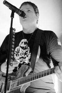 Tom Delonge - Angels and Airwaves in München 2012 - Foto Copyright: Marcus Liprecht