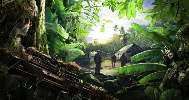 sniper ghost warrior games