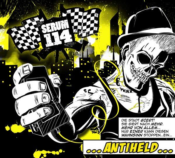 Albumcover: Serum 114 antiheld