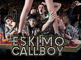 Eskimo Callboay Metalcore Band mit Bachelorette David Friedrich