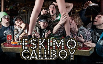 Eskimo Callboay Metalcore Band mit Bachelorette David Friedrich