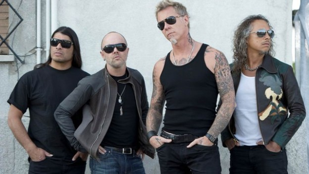 Metallica band The Lords Of Summer