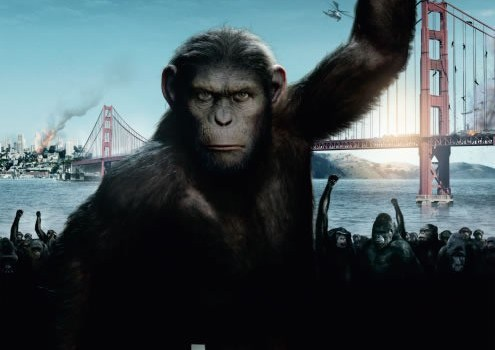 Planet der Affen Prevolution Rise of the Planet of the Apes Poster