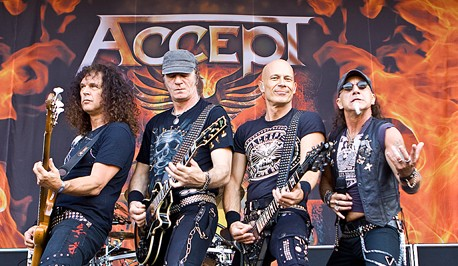 Accept Rockband Foto