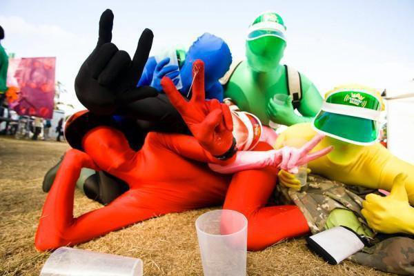 Morphsuits Festivals Trends