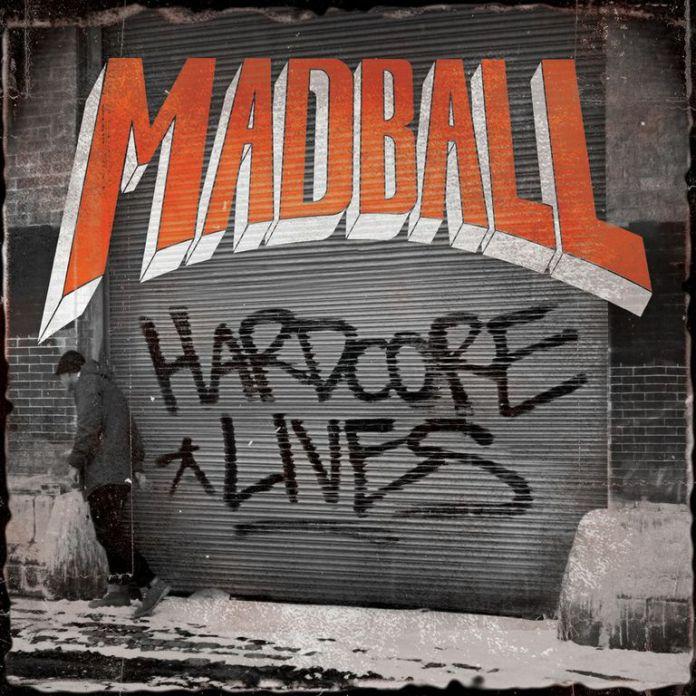 "Madball - ""Hardcore lives"" - Albumcover (2014)"