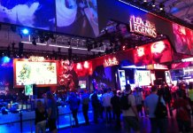 Gamescom LeagueOfLegends Foto:MarcusBerg