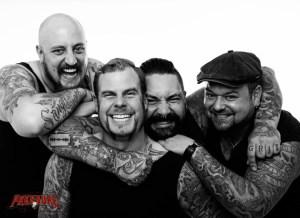 "Kärbholz Band Promofoto 2017 - ""Überdosis Leben"" Album"