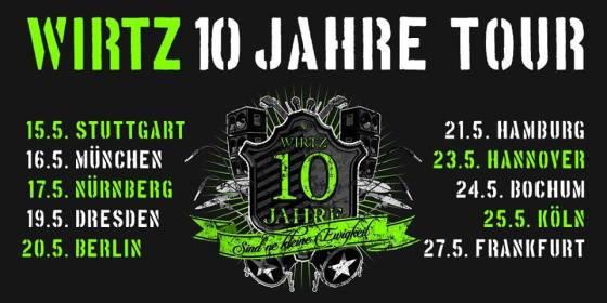 Daniel WIRTZ - 10 Jahre Tour 2017