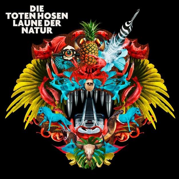 Albumcover: Die Toten Hosen - Laune der Natur VÖ. 5.5.2017