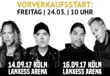 Metallica Konzert Live Koeln Deutschland