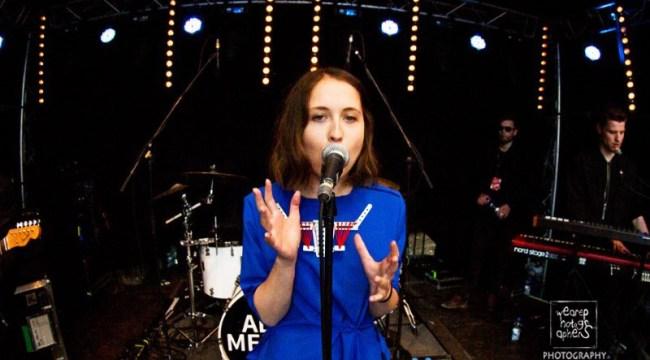Konzertfoto von Alice Merton live auf dem Pulse Open Air 2017