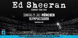 Ed Sheeran Sommer 2018 auf Open Air-Tour durch Deutschland