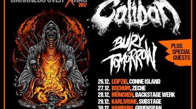 Caliban und Bury Tomorrow - Jahresabschluss Tour 2017
