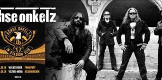 Böhse Onkelz spielen auf Matapaloz Festival 2018 und Stadion-Konzerte in Frankfurt und Gelsenkirchen