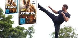 Kickboxer die abrechnung blu-ray dvd cover 2018