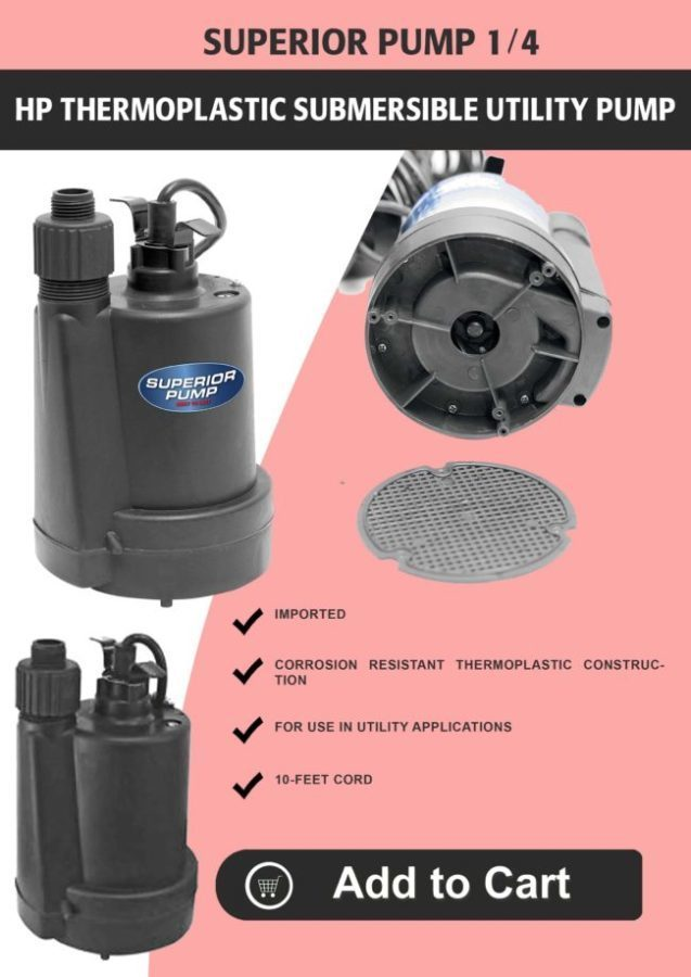 Best Sump Pump Review 2018 With InDepth Comparison Chart