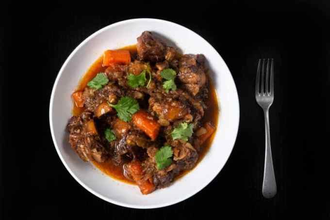hawaiian oxtail stew recipe slow cooker  sante blog