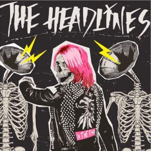 Album Cover: The Headlines - In The End (2017) mit neuer Sängerin Kerry Bomb