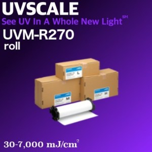 easy to do UV light measurement with results in vivid color
