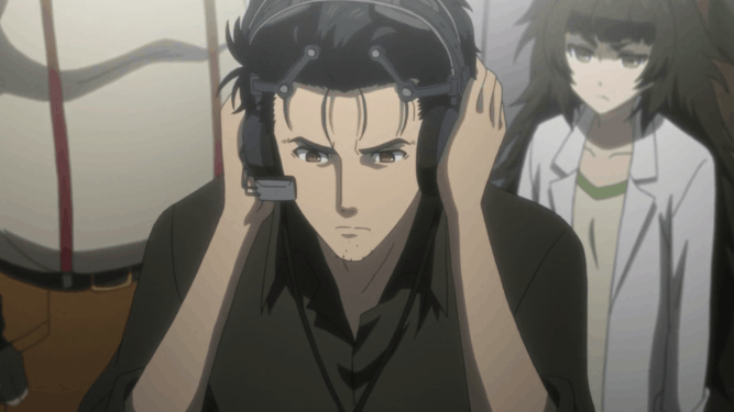 Okabe Rintaro time leap machine