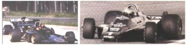 F1 models in 1970