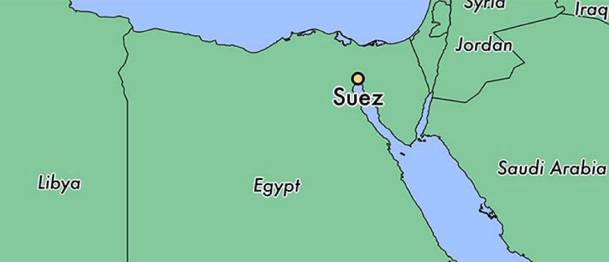 Suez canal and F1