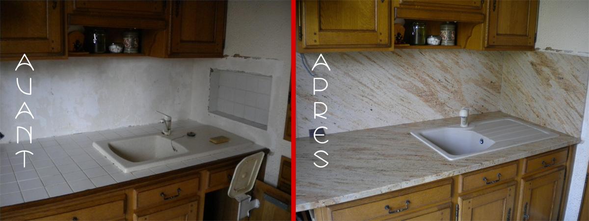 plan de travail cuisine granit changer son plan de travail