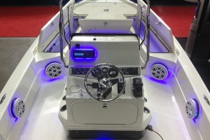 Marine Audio System in Skeeter