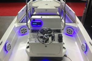 Marine Audio System in Skeeter