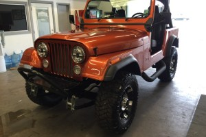 Jeep CJ7 Audio