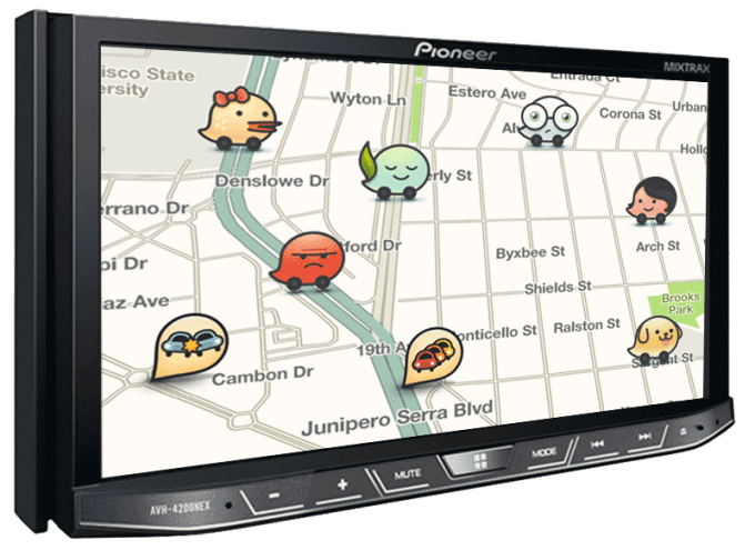 Waze In-Dash