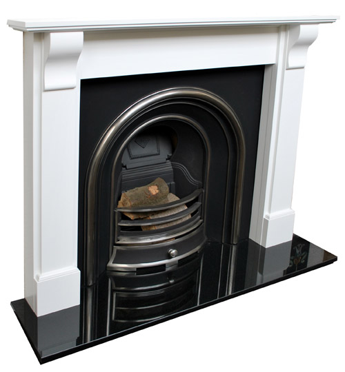 Bedford White Fireplace Prestige Fireplaces Nottingham