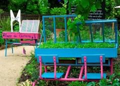 Créativité en jardinage