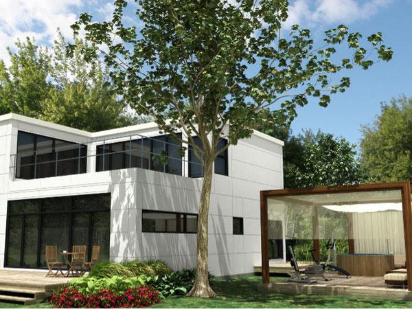 maison pr fabriqu et l 39 industrie du b timent. Black Bedroom Furniture Sets. Home Design Ideas