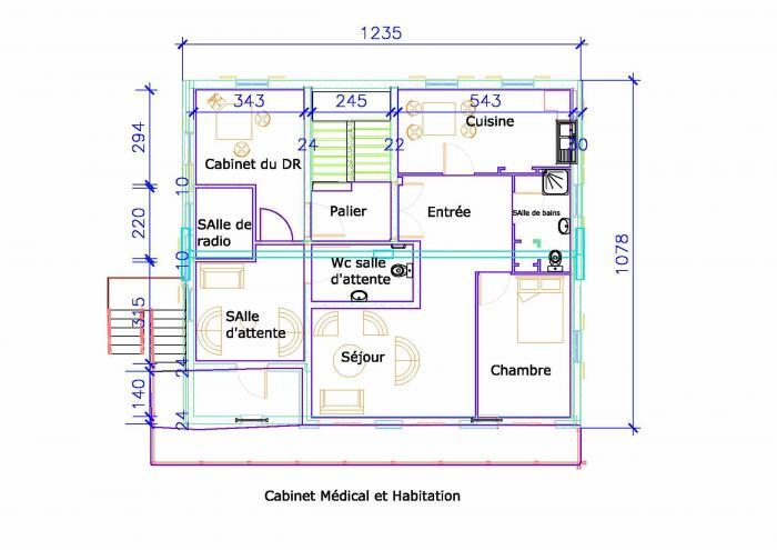 Architectes et plans de maison for Prix architecte plan maison
